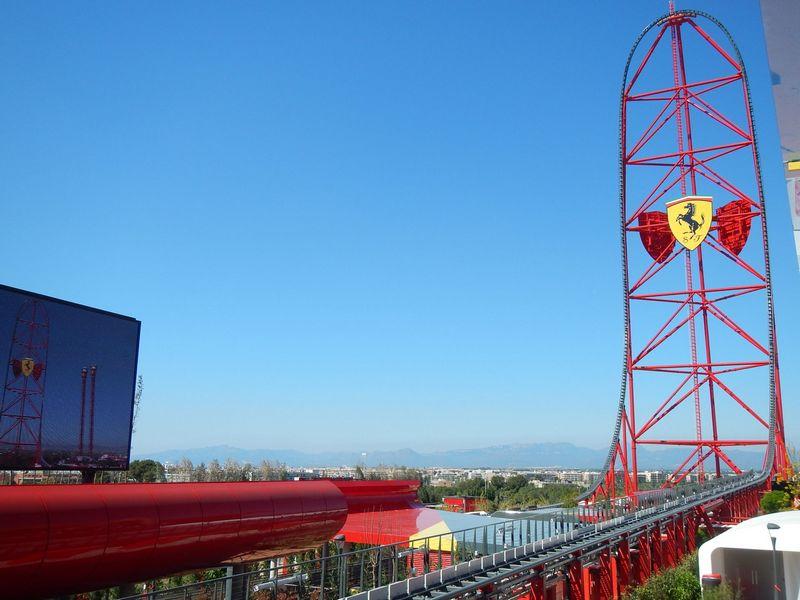 Red Force a Ferrari Land (PortAventura World - Spagna)