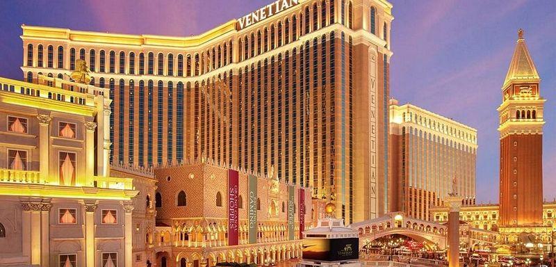 Venetian Hotel di Las Vegas
