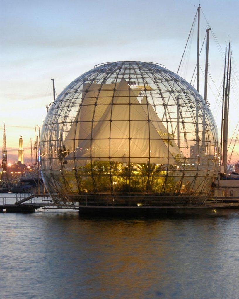 La Biosfera dell'Acquario di Genova