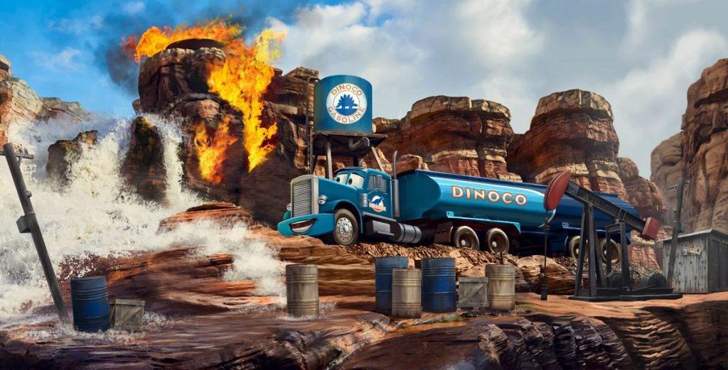 Cars Road Trip: Nuova attrazione ispirata al film di animazione Cars dei Walt Disney Studios di Parigi