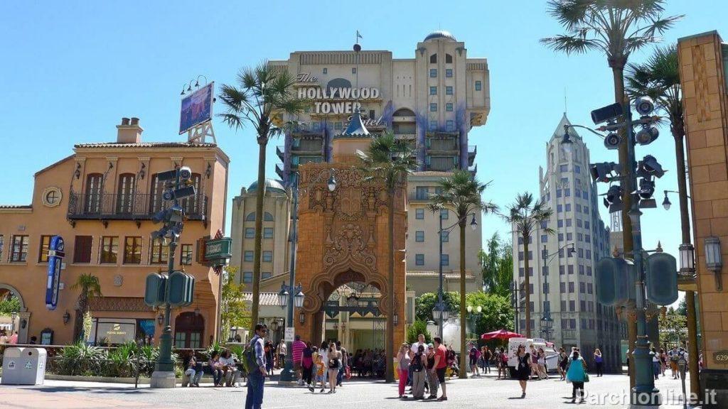 Attrazione Tower of Terror ai Walt Disney Studios di Parigi