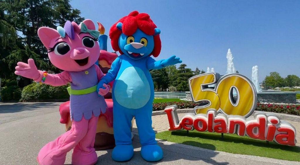Le mascotte di Leolandia Park