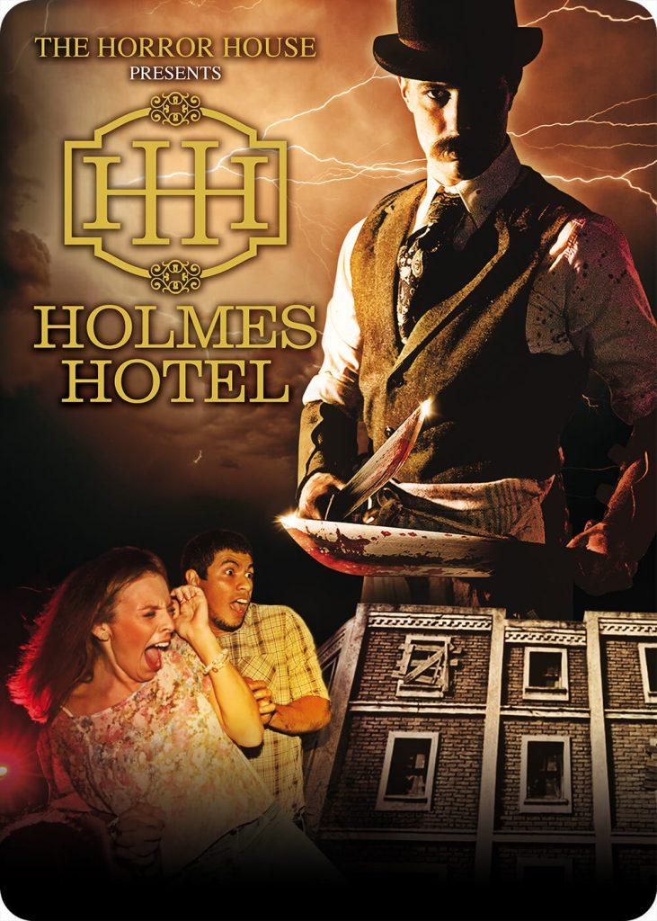 Holmes Hotel: la Nuova horror house di Movieland