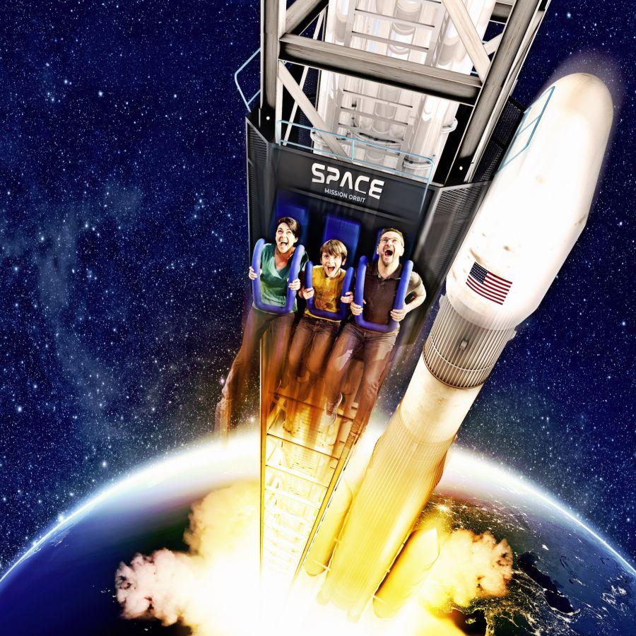 Nuova attrazione di Movieland a tema spaziale