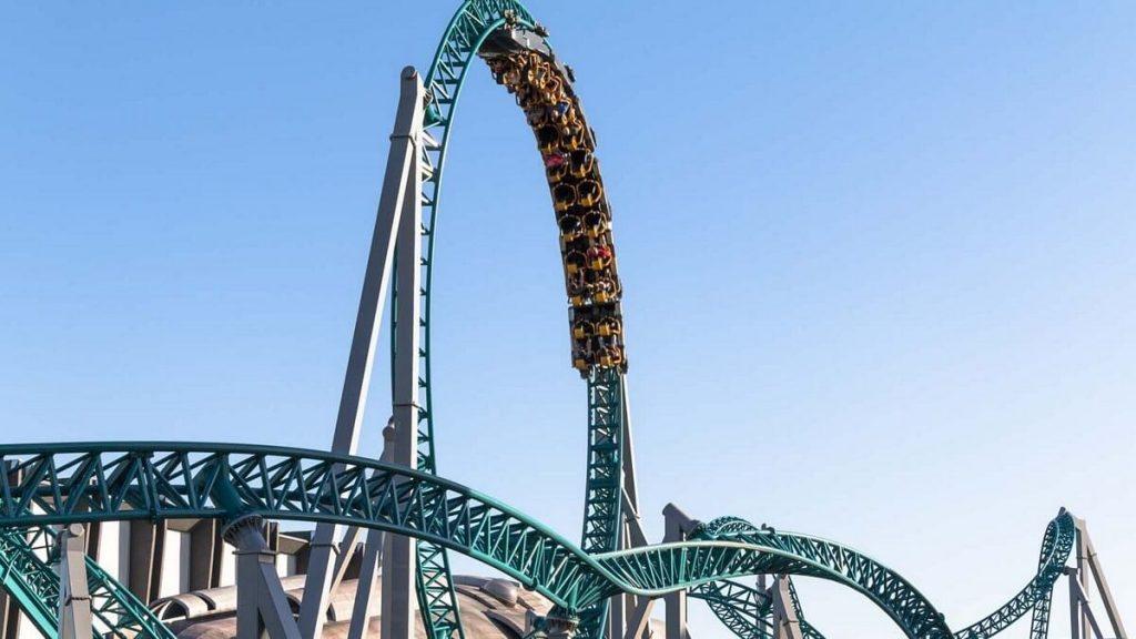 Roller coaster Altair di Cinecittà World