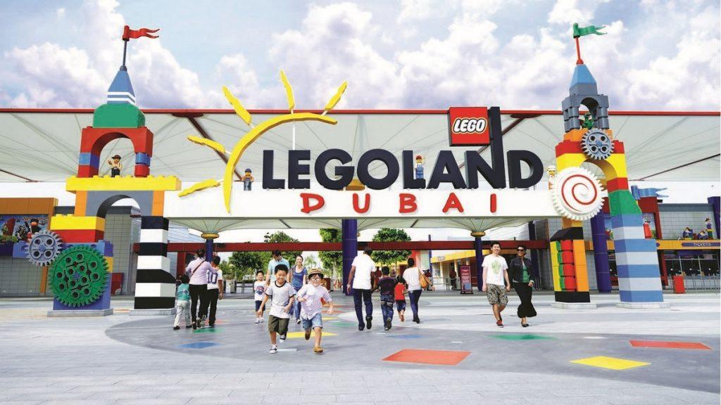 Ingresso del parco tematico Legoland Dubai