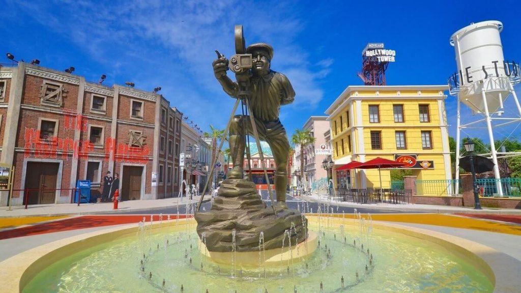 Main street di Movieland, il parco divertimenti sul cinema di CanevaWorld