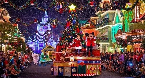 Natale a Disneyland Paris