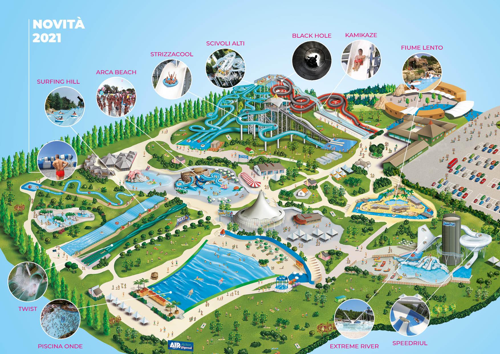 Cartina Italia Riccione.Aquafan 2021 Prezzi Offerte Biglietti Orari